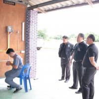 รับมอบวัสดุฝึกพ่นสีรถยนต์จาก บ นิปปอนเพนต์