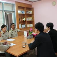 การตรวจเยี่ยม นิเทศ ครูอาสาสมัครจีน