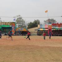 กิจกรรมกีฬาสี เขียวเหลืองเกมส์ ประจำปี 2560
