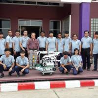 ทีมงานสิ่งประดิษฐ์และทีมงานหุ่นยนต์กู้ภัยและแขนกลอุตสาหกรรม