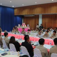 ประชุมแลกเปลี่ยนแนวทางในการพัฒนาจังหวัดกับสถานศึกษาของ จ สระแก้ว