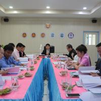 การประชุมผู้บริหารสถานศึกษาภาครัฐและเอกชน ในสังกัด อศจ.สระแก้ว