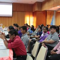 การประชุมผู้บิรหาร ครู และบุคลากรทางการศึกษา