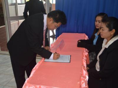 การลงนามความร่วมมือหลักสูตรทวิศึกษา