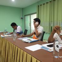 7 พฤษภาคม 2561 การประชุมคณะกรรมการบริหารสถานศึกษา ครั้งที่ 1