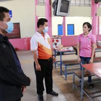 กิจกรรมอาชีวะพัฒนา ซ่อมแซมระบบไฟฟ้าภายในอาคารเรียนบ้านโคกไพร