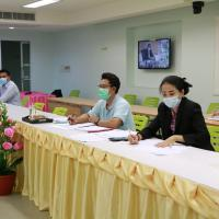 ประชุมซักซ้อมความเข้าใจข้อมูลสถานการณ์การแพร่ระบาดโรคโคโรนา2019