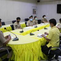ประชุมครูหัวหน้าเวรและเลขานุการเวรประจำวัน ภาคเรียนที่ 1 ปี2564
