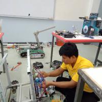 แผนกอิเล็กทรอนิกส์และเทคนิคคอมพิวเตอร์ ดำเนินการจัดทำหุ่นยนต์