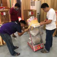 ดำเนินการทดสอบหุ่นยนต์ส่งอาหารและเวชภัณฑ์