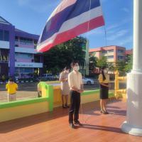 กิจกรรมหน้าเสาธง วันที่ 12/07/2564