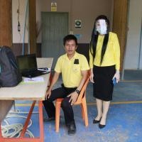 รองผู้อำนวยการเข้านิเทศการเรียนการสอนของคณะครู