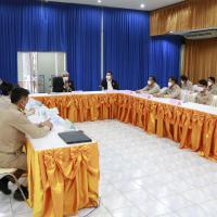 จัดการประชุมชี้แจงและมอบนโยบายแก่ผู้บริหาร หัวหน้าแผนกวิชา