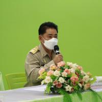 ประชุมคณะทำงานติดตามและประเมิณผลการป้องกันการแพร่ระบาด