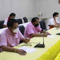 การประชุมการจัดทำหลักสูตรอบรมในรูปแบบออนไลน์ (Online)