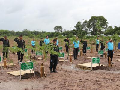 กิจกรรมปลูกป่าเฉลิมพระเกียรติเนื่องในวันแม่แห่งชาติ