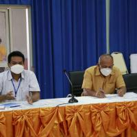 ประชุมเพื่อพิจารณาตารางเรียนตารางสอนภาคเรียนที่ 2 ปีการศึกษา2564