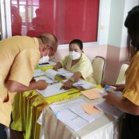 ประชุมเพื่อเตรียมความพร้อมก่อนการเปิดภาคเรียนที่2ปีการศึกษา2564
