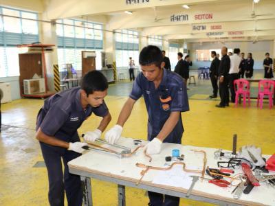 การแข่งขันทักษะวิชาชีพระดับอาชีวศึกษาจังหวัดประจำปีการศึกษา 2559