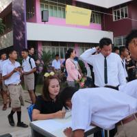 ลงทะเบียนและปฐมนิเทศนักเรียน นักศึกษาใหม่